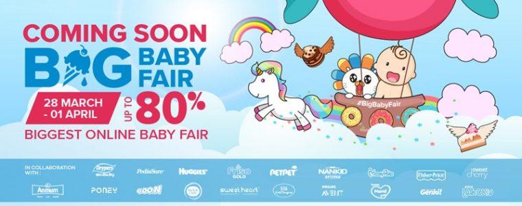 Lazada Big Baby Fair 2018
